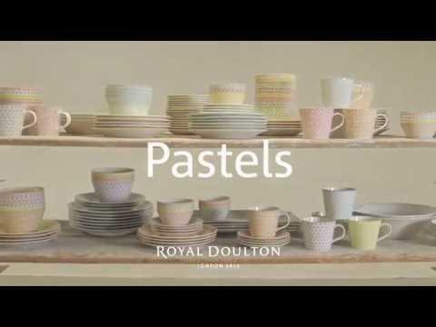 Royal Doulton Pastels pastabord Ø 22cm