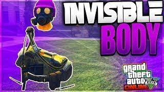 GTA 5 ONLINE - HOW TO GET FULLY INVISIBLE BODY 1.42! *NEW* (GTA 5 BEST GLITCHES)