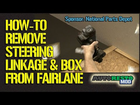 Steering Linkage And Box Removal Ford Fairlane, Mustang, Cougar Comet FalconEpisode 211 Autorestomod Mp3