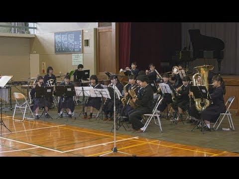 東部中学校でスプリングコンサート開催