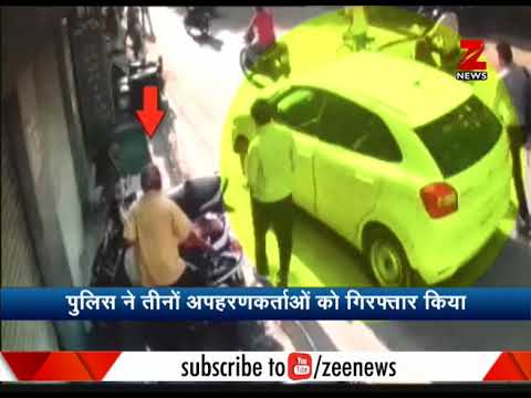 Watch: Businessman gets kidnapped near police station in Udaipur
