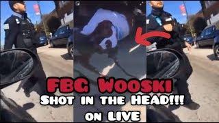 FBG Wooski SHOT in the HEAD at Chicago Rapper Dooski's Funeral on InstagramLIVE *FOOTAGE LINK*