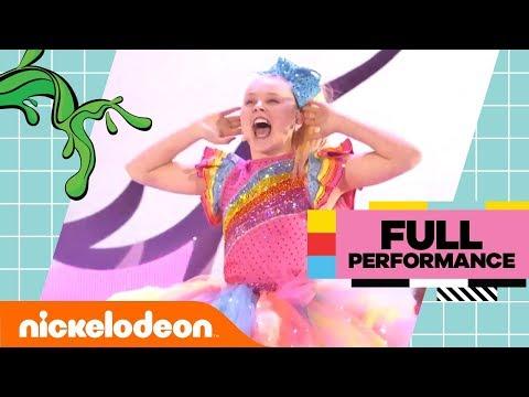 JoJo Siwa Gets SLIMED While Performing Her Top Hits 😜 | Kids' Choice Awards 2018 | Nick