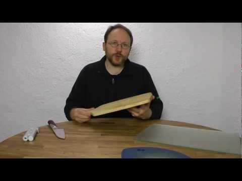 Messerschärfen - Glasschneidbretter, wie schlimm sind sie wirklich?