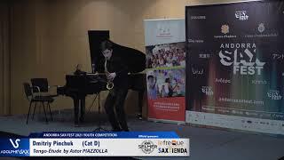 Dmitriy Pinchuk plays Tango Etude by Astor Piazzolla