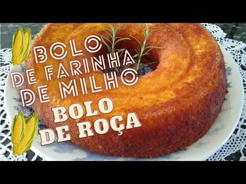 Bolo de Farinha de Milho (Bolo de Roa)