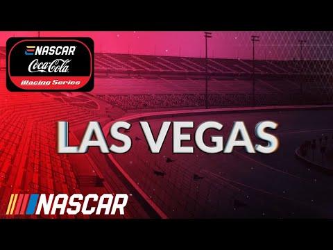 ENASCAR iRacingシリーズ第3戦 ラスベガスモータースピードウェイ レースライブ配信
