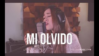 Mi olvido - Banda MS (Carolina Ross cover) En Vivo Sesión Estudio