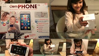 clemPHONE - Produktplatzierung - sicheres Handy für Kinder l IdrisTv Online