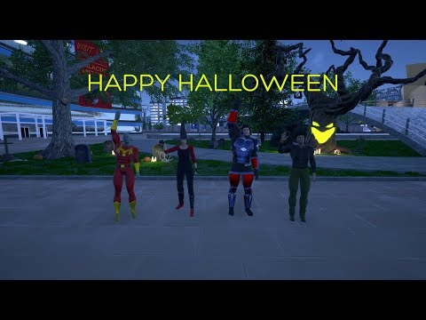 Happy Halloween from the Ship of Heroes Team