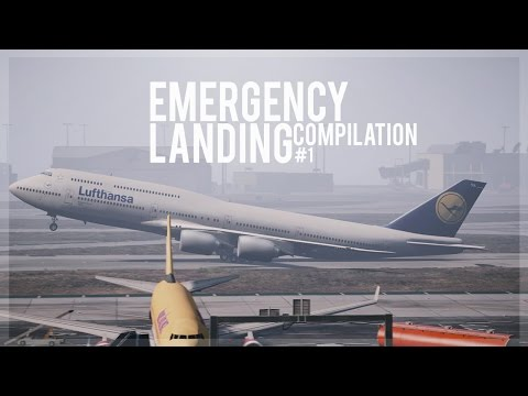 GTA 5 - Emergency Landing Compilation #1 (Engine Failures, Go-Arounds)