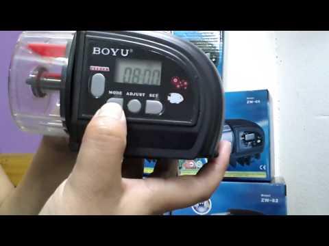 Instructivo programacion simple Boyu-ZW66 y 82
