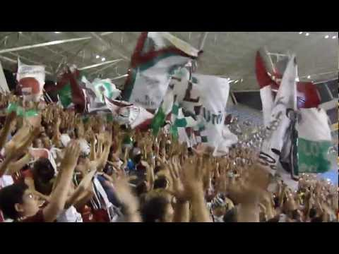 """Fluminense 1x1 Boca Jrs. - entrada do time [HD]"" Barra: Movimento Popular Legião Tricolor • Club: Fluminense"