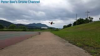 #21 Racing drone acro mode practice 레이싱 드론 아크로 모드 시계비행 연습