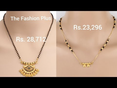 Gold Mangalsutra at Best Price in India