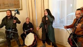 The HU - Yuve Yuve Yu - Live at the Mongolian Embassy, London