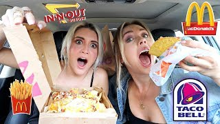 Letting The Person In Front Of Us Decide What We Eat! | Ashley Nichole
