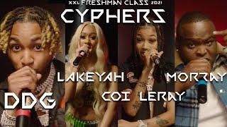 DDG, Lakeyah, Morray and Coi Leray's 2021 XXL Freshman Cypher