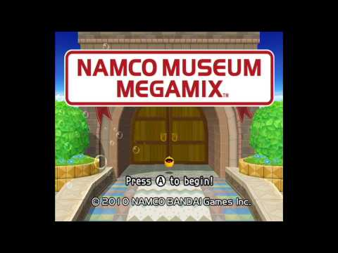 Namco Museum Megamix - Pac N' Roll - Full Playthrough