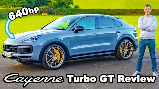 Porsche Cayenne Turbo GT review - bonkers 0-60mph!