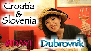 クロアチア&スロベニア旅行ログ☆ドゥブロブニク編1日目さっそく事件発生!/TriptoCroatia&Slovenia!Dubrovnik#DAY1