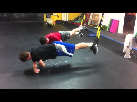 TRX Side Plank with Rotation (Sports Performance Training i