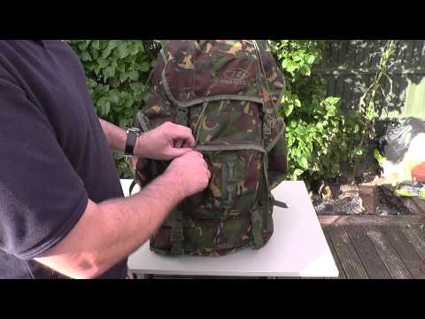 Bushcraft: Highlander New Forces 88 rucksack