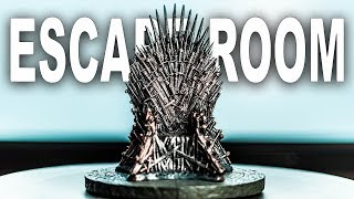 Solving The GAME OF THRONES Escape Room!!