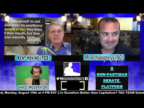 Dr. Kent Hovind vs Mr Archeaopteryx - Is the Evolution Theory Dangerous? 8/16/19