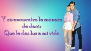 Abrázame y verás (Letra) León y Violetta