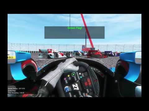 rFactor 2 IndyCar St. Petersburg Round 1 80% Difficulty