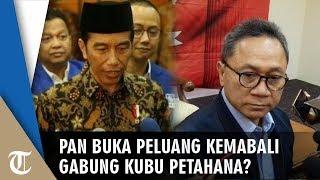 Pertemuan Zulkifli Hasan dan Presiden Jokowi, Ketua Mahkamah PAN: Bisa Gabung Bisa Tidak