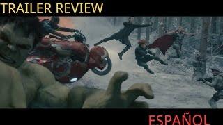 Avengers Age Of Ultron  Tráiler Review  Español Latino