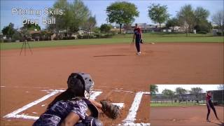 Rachel Broussard Softball Skills Video - 2020 Pitcher 1B