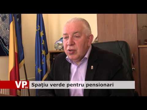 Spaţiu verde pentru pensionari