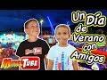 Un Día de Playa y Feria con Familukis y Juguetes MaryVer Vlog. MikelTube