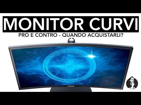 MONITOR CURVO | PRO E CONTRO