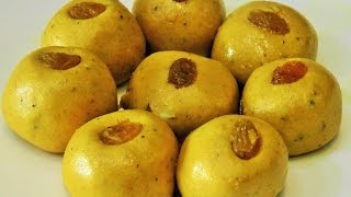 बेसन लाडू | Besan Ladoo By MadhurasRecipe | Diwali Recipe