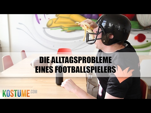 Super Bowl Warm-up - Alltagsprobleme eines Footballspielers