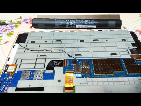 Замена аккумулятора в LENOVO YOGA TABLET 10 / Replacing the battery in LENOVO YOGA TABLET 10