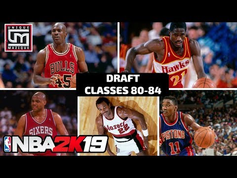 Download Nba 2k19 How To Import A Historic Draft Class In Myleague