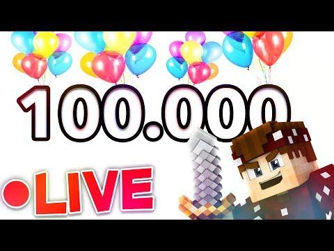 100.000 LIVE MIT EUCH!