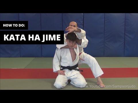 How to do Kata Ha jime