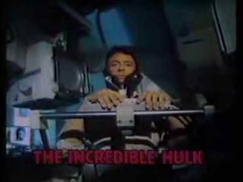 CBS promo The Incredible Hulk WJKW 1979