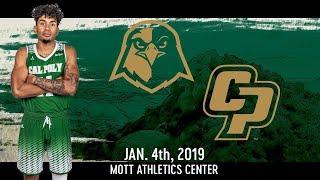 Cal Poly v Holy Names University, Men's Basketball Highlights -- Jan. 4, 2019