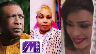 "VOICI LA REACTION DE AMINA POTE SUR LE SUPPOSE MARIAGE ENTRE YOU ET MBATHIO""YOU TAKKOULE KENE"""