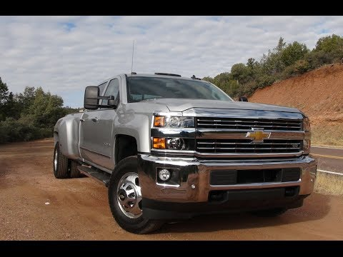 2015 Chevy Silverado 3500 HD Diesel 4WD First Drive Review