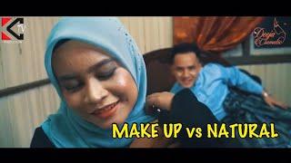 MAKE UP vs NATURAL
