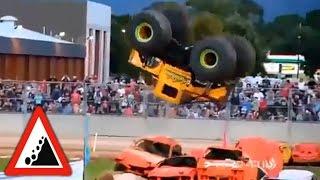 Смотреть онлайн Самые большие супер машины на гонках