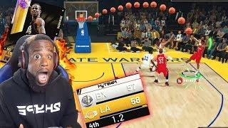 99 OVR Opal Allen Iverson w/ One Second Left BUZZER BEATER! NBA 2K19